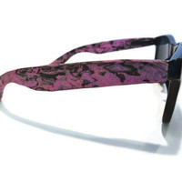 Purple Shimmer Wayfarers