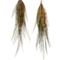 Jeeyun Ha Designs | 14-karat gold feather drop earrings | NET-A-PORTER.COM