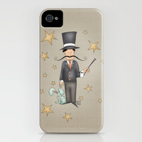 Magician (Circus series) iPhone Case by Carina Povarchik | Society6