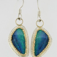 Dangling Opal Earrings by Karinamattei on Etsy