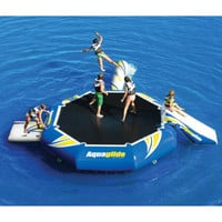 Gander Mountain® > Aquaglide Platinum Rebound Aquapark 12 Bouncer Set - Boating >  Lake & Pool Leisure >  Water Trampolines :