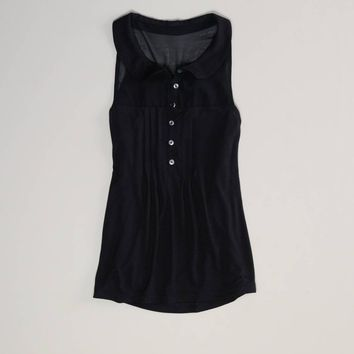 AE Pleated Sleeveless Top   American Eagle Outfitters