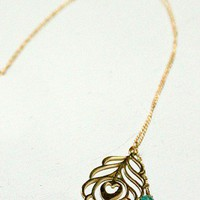 Leaf Necklace - NEW - Shop Online