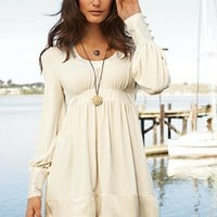 Silk-trim Babydoll Dress - Victoria's Secret