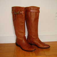 Coach Riding Boots Vivica size 9 1/2 B Made in Italy