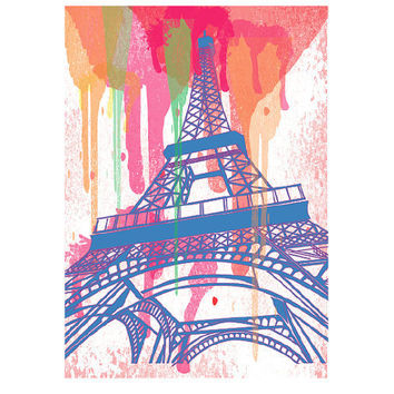 Paris- A Print Illustration