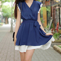Chiffon dress (063)