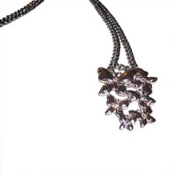 Butterfly Chainlink Charm Necklace
