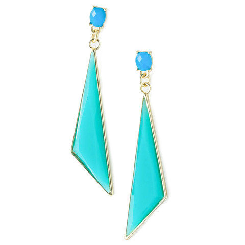 Pree Brulee - Ippolita Aqua Earrings