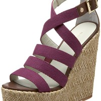 Amazon.com: Nine West Women&#x27;s Braxton Wedge Sandal: Shoes