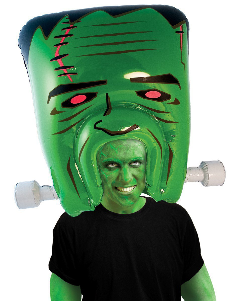 Inflatable Frankenstein Head Wig - Whimsical & Unique Gift Ideas for the Coolest Gift Givers
