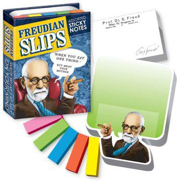 Freudian Slips Sticky Notes - Whimsical &amp; Unique Gift Ideas for the Coolest Gift Givers