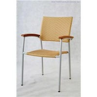 Stack-90 (Set Of 4) Outdoor Chair, Modern Outdoor Chair Set, Patio And Outdoor Furniture: Nyfurnitureoutlets.com