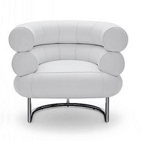 Bibendum chair (leather) by Eileen Gray
