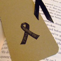 Remember Aurora Colorado Bookmarks - 100% Profit Donated To Relief Fund