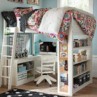 Sleep + Study Loft | PBteen