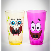 SpongeBob 8 oz. Pint Glass Set 2 Pk