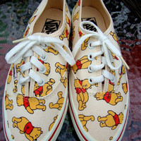 Vintage 80s Winnie the Pooh Vans Size 7
