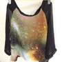 Galaxy Cosmic Chiffon Shirt