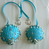 Custom Mermaid Shell Bra for Baby