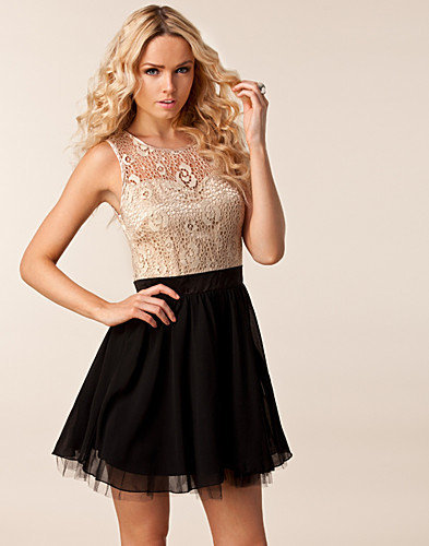 Patzy Lace Top Dress, Little Mistress
