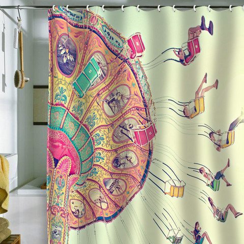 DENY Designs Home Accessories | Shannon Clark Dizzying Heights Shower Curtain