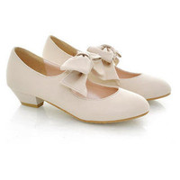 YESSTYLE: Smoothie- Bow-Accent Pumps (Pink - 39) - Free International Shipping on orders over $150