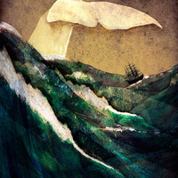 Moby Dick Art Print by Rachael Shankman | Society6