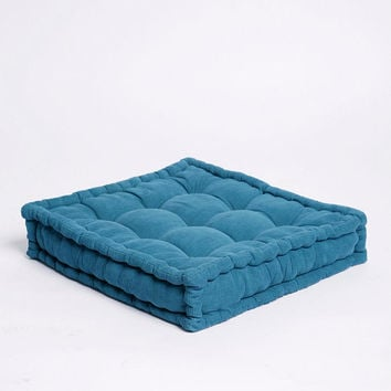Tufted Corduroy Floor Pillow