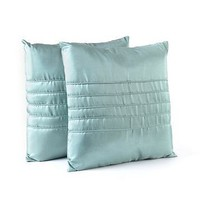 Ridged Blue Pillow, Set of 2 at Kirkland&#x27;s