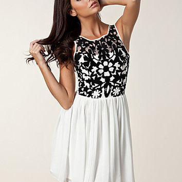 Organza Bodice Dress, Lipsy