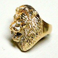 Lion Head Ring - RINGS - ACCESSORIES - Shop Online
