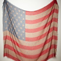 Free People Tattered Flag Scarf