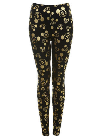 Mickey Mouse Foil Legging - Apparel  - New In