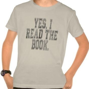 Yes I Read the Book Grey