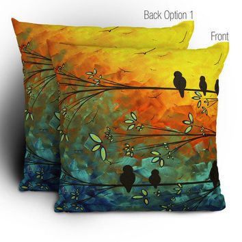 DENY Designs Home Accessories | Madart Inc. Birds Of A Feather Throw Pillow