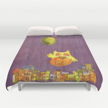 To the sky and beyond Duvet Cover by Moonlighting