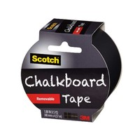 Scotch Chalkboard Tape, Black, 1.88-Inch x 5-Yard