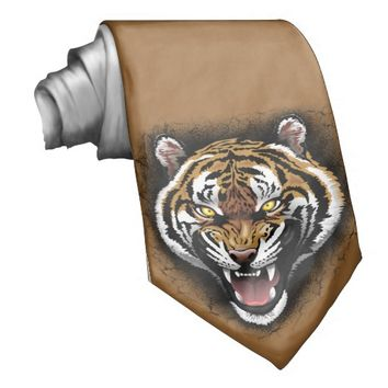 The Tiger Roar tie