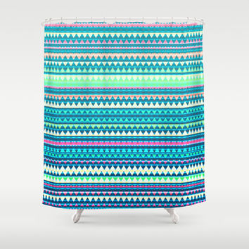 Mix #329 Shower Curtain by Ornaart