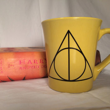 Harry Potter deathly hallows, 99 problems mug,