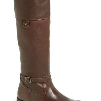 Frye 'Shirley Rivet Tall' Leather Riding Boot (Women)