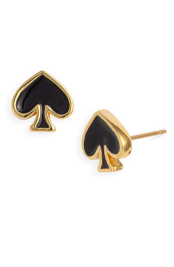kate spade new york &#x27;spade to spade&#x27; mini stud earrings | Nordstrom