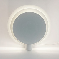 Vintage White Lamp - Lumiance 1980s