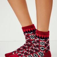 Free People Womens Vienna Slipper Sock
