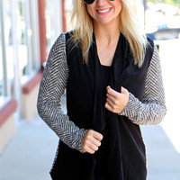 Tweed Girl Cardigan