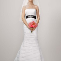 Buy Petite Two-In-One Layered Organza Fit-and-Flare Style 7KP3135  , from  for $168.59 only in Fashionwithme.com.