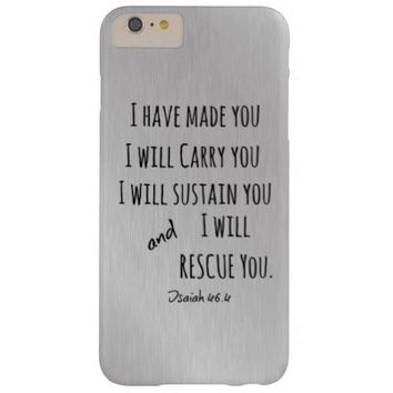 I will carry you Bible Verse