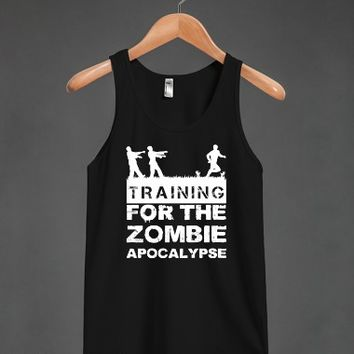 Training For The Zombie Apocalypse Tank - other styles and colors are available