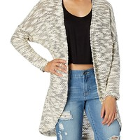 Cream Loopy Terry Duster